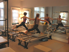 People exercising at Pilates Studio in Westchester County, NY